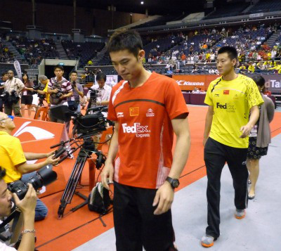 LinDan's walkover caused anger in Singapore Open last June @archives