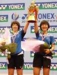 Korean grabs Women's Doubles title