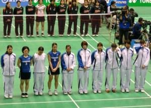 Last match as a team of Panasonic