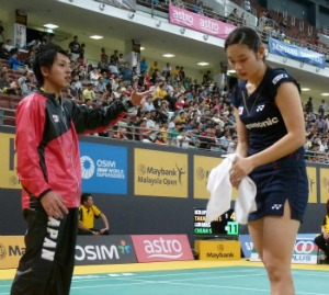 Bitter debut for Sayaka in Malaysia SS