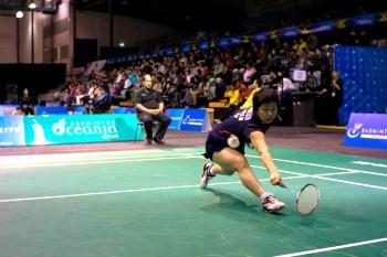 Akane YAMAGUCHI~photo courtesy of NewZealand Badminton Open