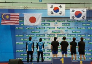 Men's Doubles awarding