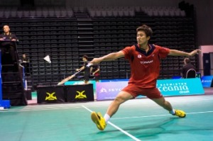 Riichi TAKESHITA~photo courtesy of SKYCITY New Zealand Badminton Open