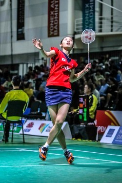 Sayaka TAKAHASHI~photo courtesy of Australian Badminton Open