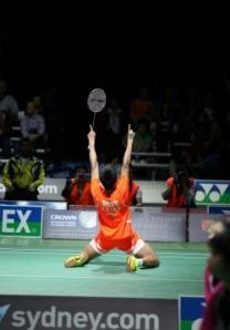TIAN Houwei~photo courtesy of Australian Badminton Open