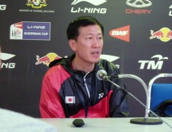 Head coach at post match press conference