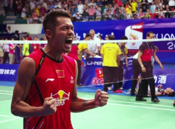 Victory of LIN Dan