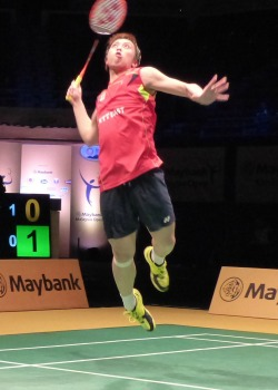 TAGO advanced Semifinal for 3 consecutive years in Malaysia Open