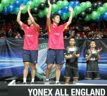 AllEngland Runner-up