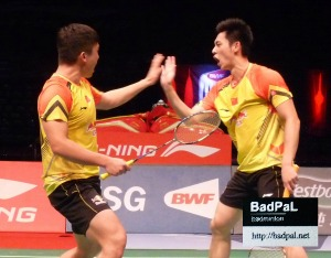 No.1 Chinese pair