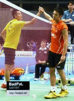 LIN Dan's last match at Japan Open in 2011