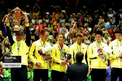 10th time for Team China to lift Sudirman Cup ~photo courtesy of LIM CheeSen