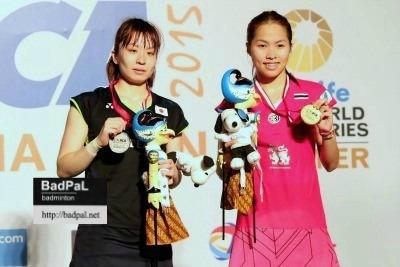 Yui allowed Ratchanok to make revenge of her loss in Australian Open ~photo courtesy of Nafielah Mahmudah