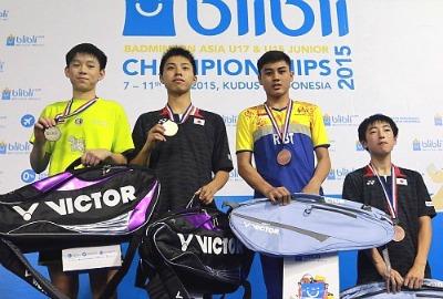 BS medalists ~photo courtesy PBDjarum.org
