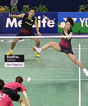 Keigo-Naoko in QF