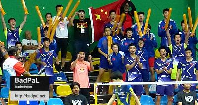 china wins