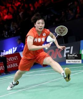 Akane YAMAGUCHI ~photo courtesy of Badminton Denmark (BadmintonPhoto)