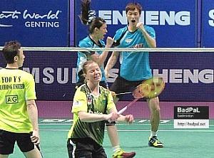 BaekChoel and KheWei upset Puchong U's best pair