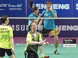 BaekChoel and KheWei upset Puchong U's best pair