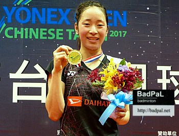 Saena to aim higher after winning her second GP Gold title
